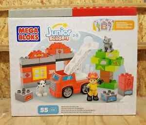 Mega Bloks Junior Builders Fire Station Rescue