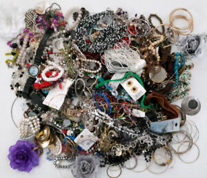 Old Broken Jewelry For Arts and Crafts & Bead Making Jewellery