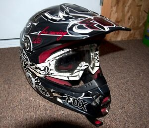 Casque Motocross Fox Racing V2 Pilot