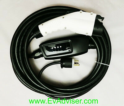 Duosida Level 2 Electric Car Charger 6-20Plug 240Volt 16Amp Best Buy! 25' Cord