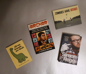 Random Coffee Table Books and Graphic Novels