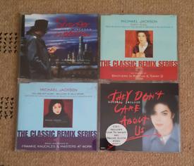 Michael Jackson CD Singles.