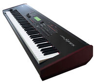 Yamaha S90ES 88-key digital keyboard with pedal, seat, stand