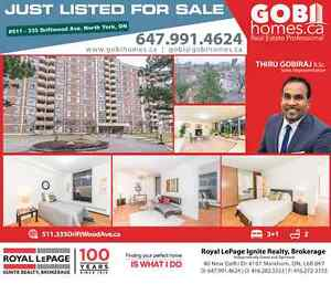 JUST LISTED! 511-335 Driftwood Ave, Toronto, ON (Steeles / Jane)