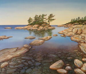 Georgian Bay Paintings plus other landscapes by local artist