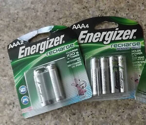 *NEW* Energizer Re-Chargeable Batteries