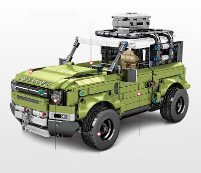 1286PCS MOC Technic Land Rover Defender Car Building Block Model Brick Set New