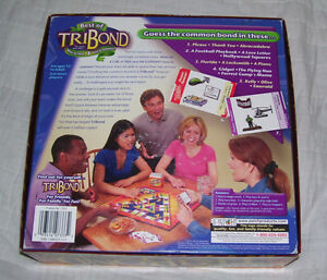 Best Of TRIBOND board game--2001 London Ontario image 2