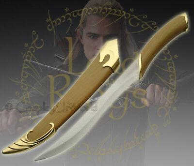 LOTR Lord of the Rings Fighting Knife of Legolas Elven Sword Dagger w. - Legolas Swords