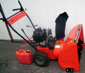 FS: Mastercraft 5HP dual-stage snowblower