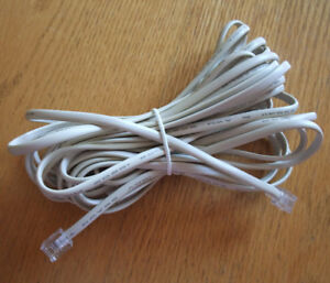 25' Computer&Data Communications Cable/Telephone Extension Cord