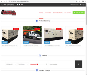 oilfield equipment classified ads domain and website for sale