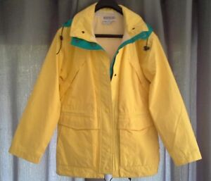 NEW - GORE-TEX outdoor womens hooded jacket S yellow - $75