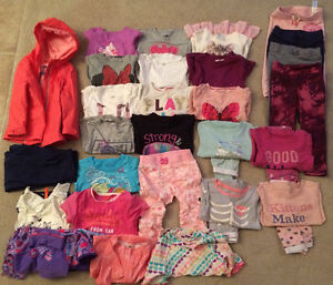 Bunch of girl clothes. Size 3T Cambridge Kitchener Area image 1