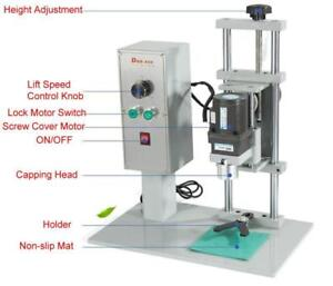 BIG SELL! Capping Machine Cap Screwing Machine for Plastic Cap and Metal Cap 110V 50W (022350)