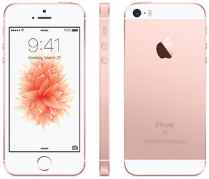 New iPhone SE Rose Gold 16GB - Telus & Koodo