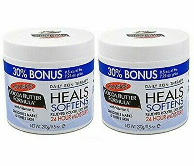 Palmers Cocoa Butter with Vitamin E 9.5 oz. - Bonus size Jar (Pack of -