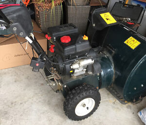 24 inch yard machine snowblower