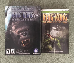 King Kong Movie Video Game & Book 'The Island of the Skull'