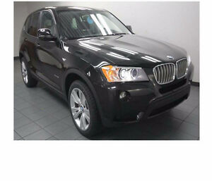 Black 2014 BMW X3 XDrive35i