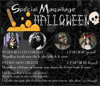 MAQUILLAGE HALLOWEEN ABORDABLE