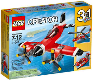 LEGO Creator Retired Set - Propeller Plane