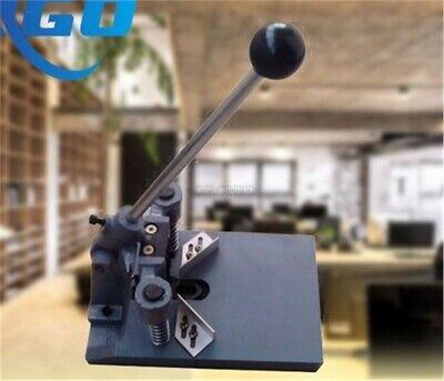 Eco Manual Round Corner Cutter Corner Rounding Cutting Machine For Paper Card Hv