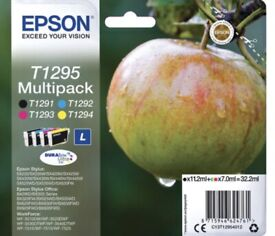 Epson t1295 multipack ink cartridges new