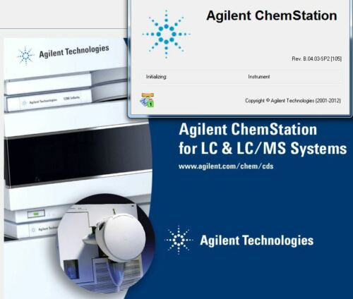 Agilent PC with LCMS Chemstation  B04.03 SP2, tested w G1946D, G1956B, 6130 6140