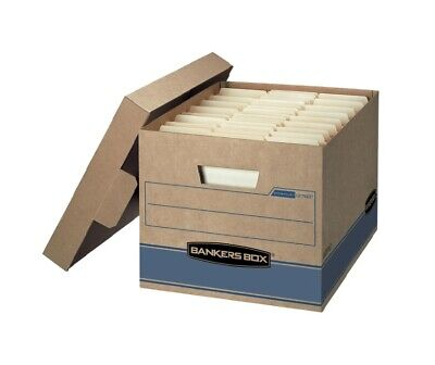 Bankers Box Heavy Duty Storage Boxes 10 X 12 X 15 10 Pack - Free Shipping
