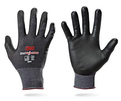 2 pairs 3M Pro Grip 1000 Work Gloves Builders Mechanic Construction Safety Glove