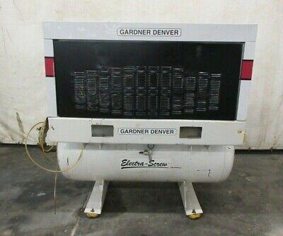 Gardner-denver Electra-screw Compressor Model Ebergh 30 Hp 460v 129.6 Cfm