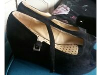 Ladys black new look shoes