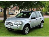 LAND ROVER FREELANDER 2 SE 2.2 TD4 4X4 2007 TOP SPEC FULLY LOADED IMMACULATE
