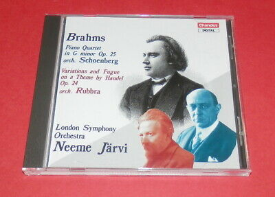 Brahms -- Piano Quartet in G minor Op 25 / Neeme Järvi   --