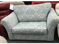 Patterned Love Seat