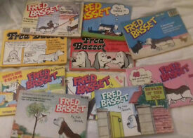 Fred Bassett book bundle