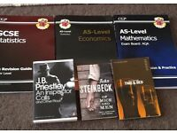 GCSE and AS level revision books