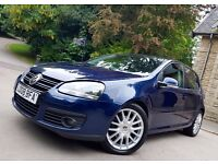 2008 VW GOLF GT TDI 140 AUTOMATIC DSG WITH M.O.T AND HEATED LEATHER SEATS! 5 DOOR DIESEL BARGAIN*