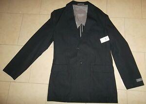 BRAND NEW Black Men's Sport Jacket size 38 T/L
