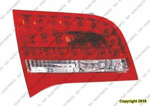 Trunk Lamp Driver Side (Back-Up Lamp) Wagon High Quality Audi A6 2009-2011