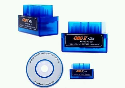 MINI V2.1 ELM327 OBD2 BLUETOOTH INTERFACE ESCANER DIAGNOSTICO ANDROID AUTO segunda mano  Argamasilla de Calatrava