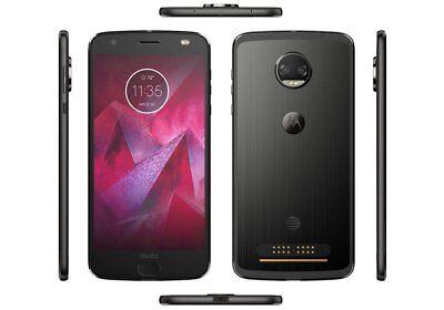 Motorola Moto Z2 Force Model XT1789 64GB (AT&T) Smartphone - Black