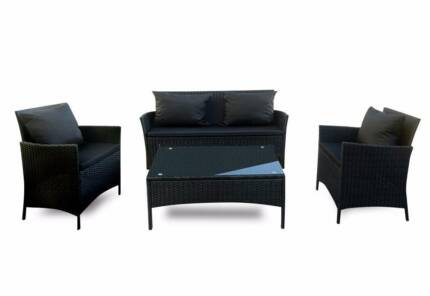 CHEAP WICKER OUTDOOR FURNITURE SOFA / MODULAR SET SETTING Hoppers Crossing Wyndham Area Preview