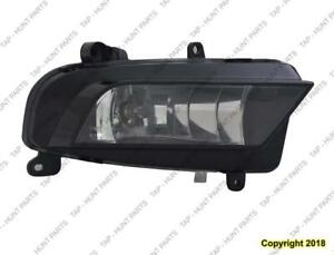 Fog Light Passenger Side Without S-Line Package High Quality Audi A4 2013-2016