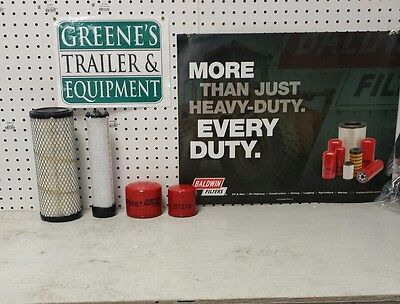 John Deere Tractor 2520 Compact Utility Tractor Wyanmar 3tnv82a Eng Filters