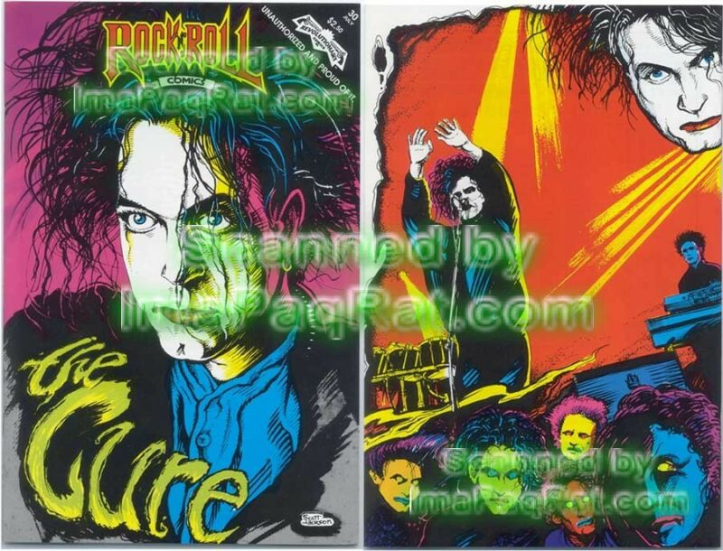 The CURE Rock N Roll Comic 1st Print Unread Archive Copy! Revolutionary! Excel!