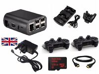 RetroPie - RaspberryPi 3 Retro Gaming Kit - 128GB - Wireless Controllers - Kodi