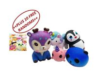 Super Cute Squishies, Great Price, Good Quality & Variety +++ Mixed Size 10 Free Random Pieces +++