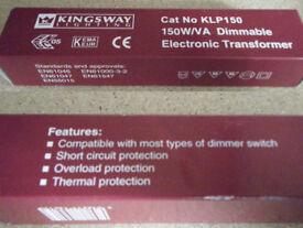 NEW Dimmable spotlight transformer 150W/VA